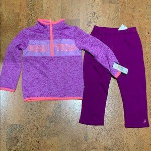 Nautica Girls 2T Purple Outfit